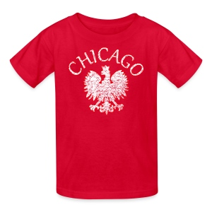 Polish Eagle Chicago - Kids' T-Shirt
