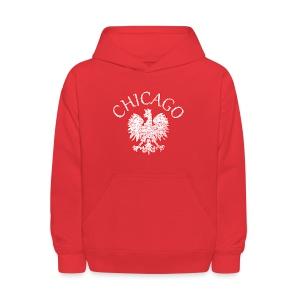 Polish Eagle Chicago - Kids' Hoodie