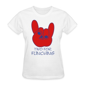 TFF Logo Ladie's White - Women's T-Shirt