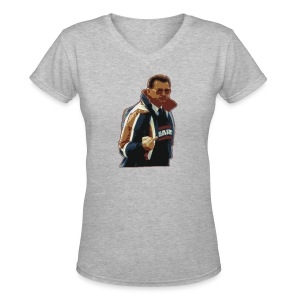 Da Finger - Women's V-Neck T-Shirt