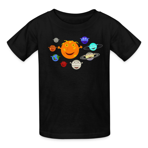 The Solar System - Kids' T-Shirt