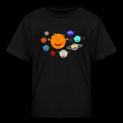 The Solar System - Kids' T-Shirt