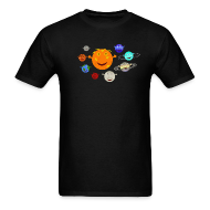 T-Shirts ~ Men's T-Shirt ~ The Solar System