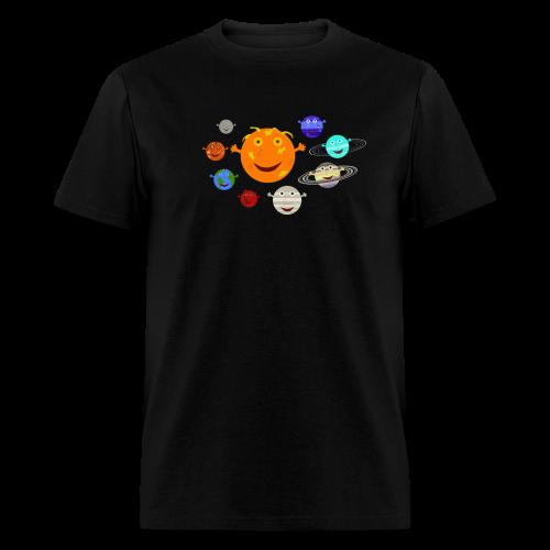 The Solar System - Men's T-Shirt
