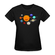 T-Shirts ~ Women's T-Shirt ~ The Solar System