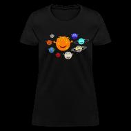 Women's T-Shirts ~ Women's T-Shirt ~ The Solar System