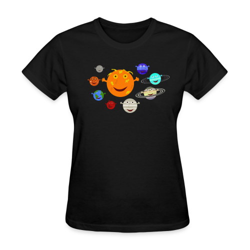 The Solar System - Women's T-Shirt