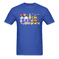 T-Shirts ~ Men's T-Shirt ~ Phonics Song 3