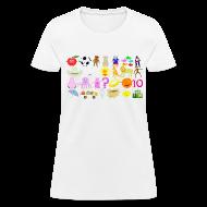 Women's T-Shirts ~ Women's T-Shirt ~ Phonics Song 3