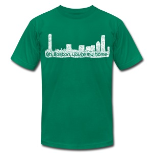 Boston You Are My Home - Men's T-Shirt by American Apparel