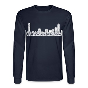 Boston You Are My Home - Men's Long Sleeve T-Shirt
