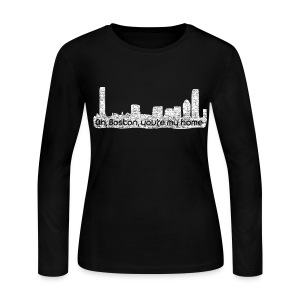 Boston You Are My Home - Women's Long Sleeve Jersey T-Shirt