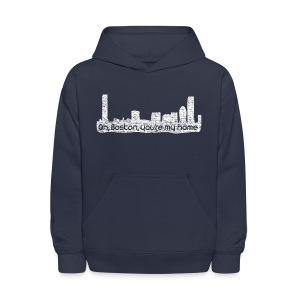 Boston You Are My Home - Kids' Hoodie