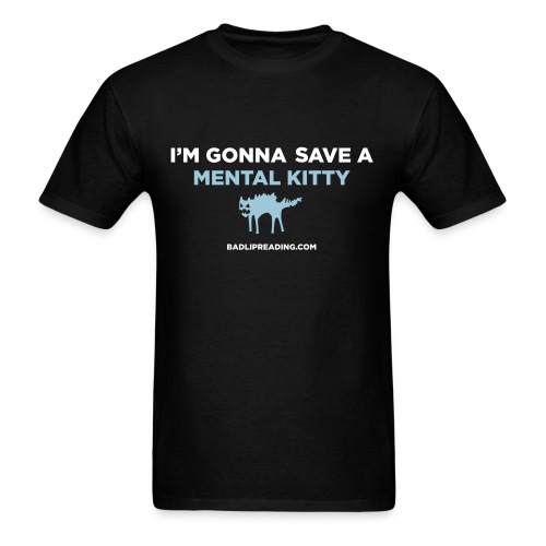 MENTAL KITTY - Men's T-Shirt