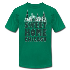 Old Sweet Home Chicago - Men's T-Shirt by American Apparel