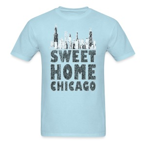 Old Sweet Home Chicago - Men's T-Shirt