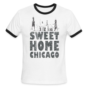 Old Sweet Home Chicago - Men's Ringer T-Shirt