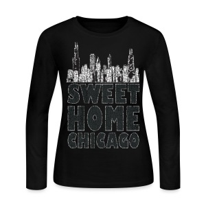 Old Sweet Home Chicago - Women's Long Sleeve Jersey T-Shirt