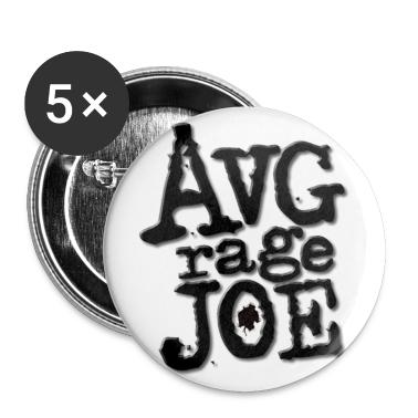 AVERAGE JOE CLASSIC LOGO BUTTON