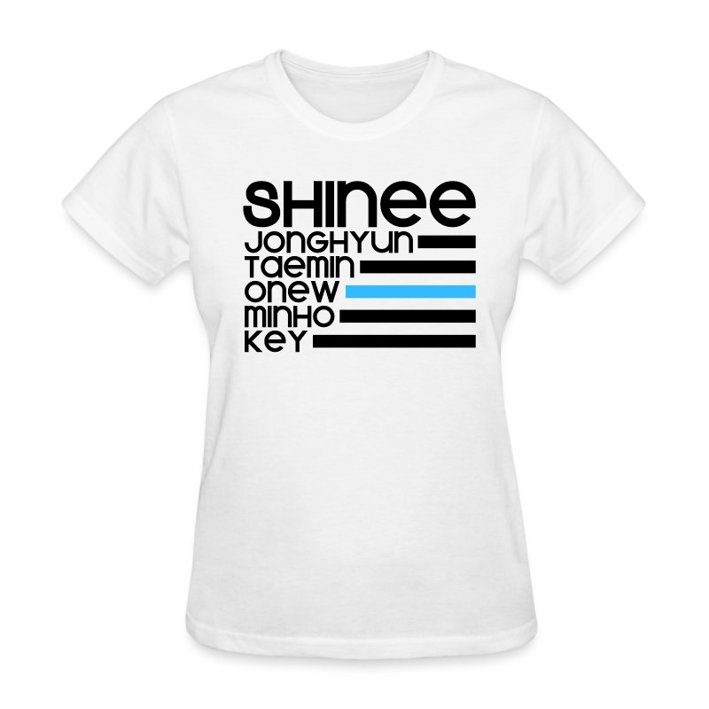 SHINee BIAS Onew - Women's T-Shirt