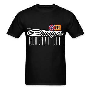 Dodge Charger Confederate General Lee - Men's T-Shirt