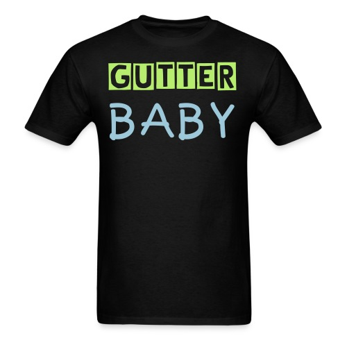 Gutter Baby Men's Standard Weight T-Shirt - Men's T-Shirt