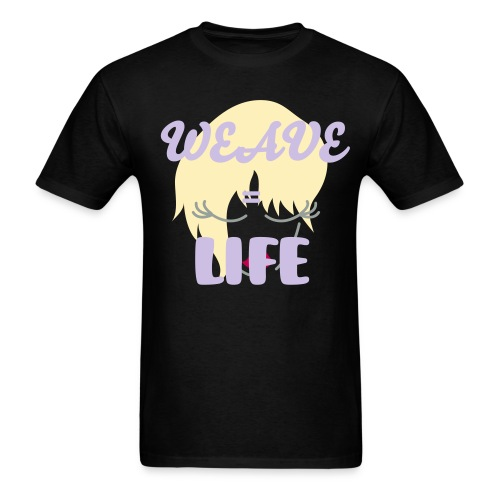 Weave=Life Men's Standard Weight T-Shirt - Men's T-Shirt
