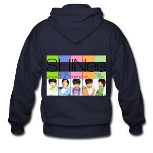 [SHINee] Replay Era - Men's Zip Hoodie