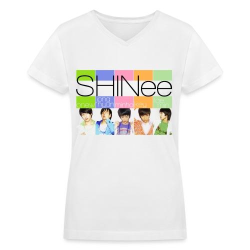 [SHINee] Replay Era - Women's V-Neck T-Shirt