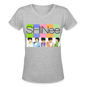 [SHINee] Replay Era - Women's V-Neck T-Shirt