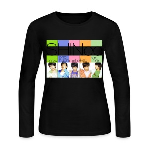 [SHINee] Replay Era - Women's Long Sleeve Jersey T-Shirt