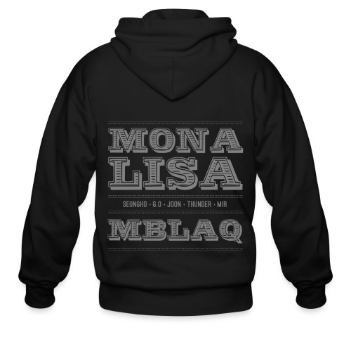 [MBLAQ] Mona Lisa - Men's Zip Hoodie