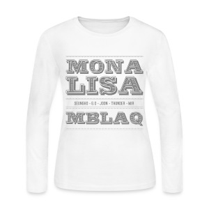 [MBLAQ] Mona Lisa - Women's Long Sleeve Jersey T-Shirt