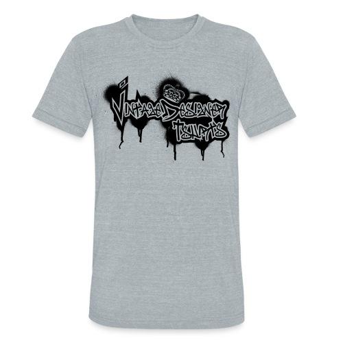 New Graffiti Logo Design - Unisex Tri-Blend T-Shirt