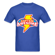 T-Shirts ~ Men's T-Shirt ~ Captain Awesome