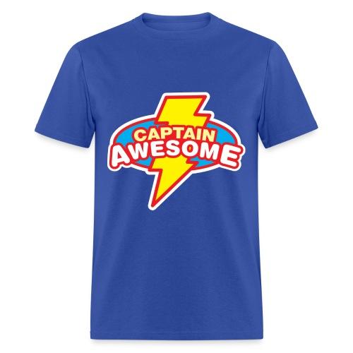 Captain Awesome - Men's T-Shirt