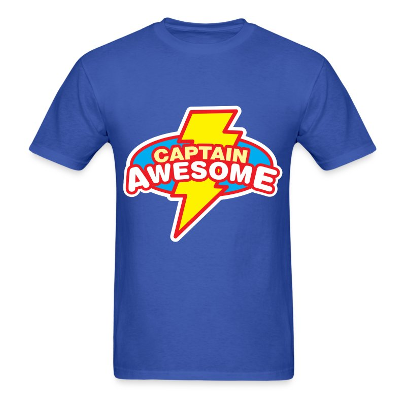 Captain Awesome - Men's T-Shirt