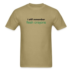 Flesh Crayons T-Shirt - Men's T-Shirt