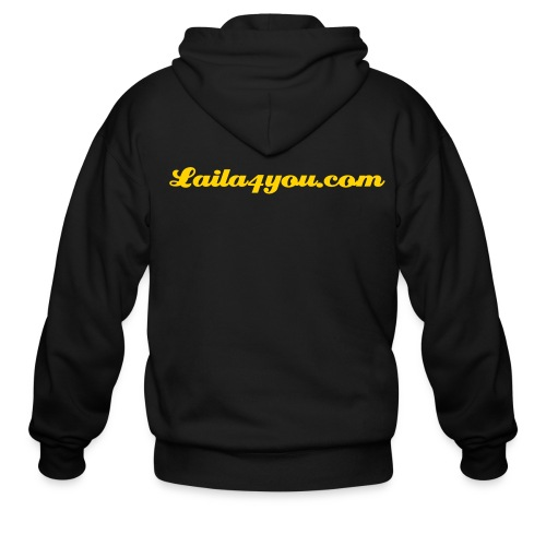 FREEZING COLD PROTECTING LAILA4YOU.COM JACKET - Men's Zip Hoodie