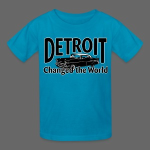 Detroit Changed the World - Kids' T-Shirt