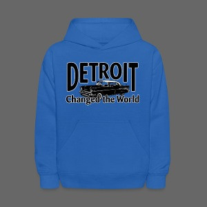 Detroit Changed the World - Kids' Hoodie