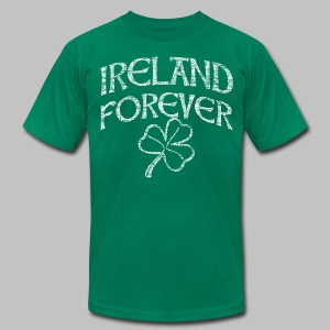 Ireland Forever - Men's T-Shirt by American Apparel