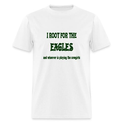 Root for Eagle/not 'Girls Tee - Men's T-Shirt