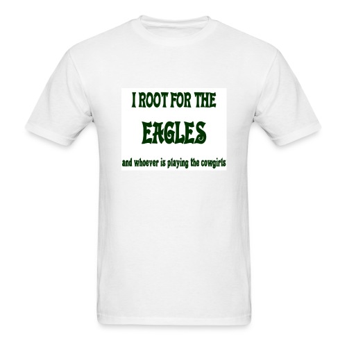 Root for Eagle/not 'Girls Tee - Men's T-Shirt