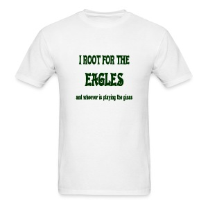 Root for Eagles/Not Ginas Tee - Men's T-Shirt
