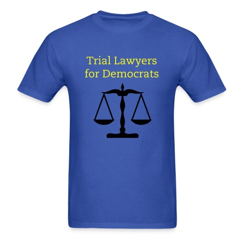 Trial Lawyer Justice Tee - Men's T-Shirt