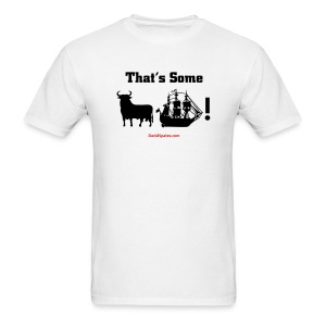 That's Some Bullship yellow Men's Standard Weight T-Shirt - Men's T-Shirt
