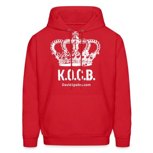KOCB Crown  Hoodie White - Men's Hoodie