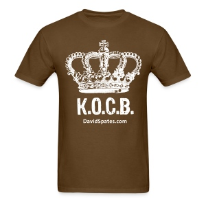 KOCB Crown Men's White Standard Weight T-Shirt - Men's T-Shirt