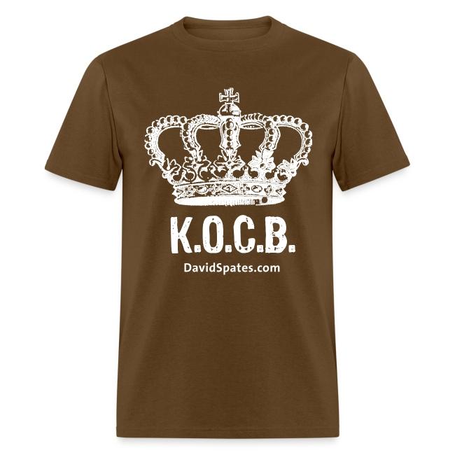 KOCB Crown Men's White Standard Weight T-Shirt